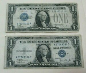 1935 & 1928 $1 Blue Seal Note Lot