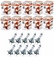 10 Stück OSRAM H7 ORIGINAL 12V H7 55W HALOGENLAMPE AUTOLAMPE AUTOBIRNE Licht