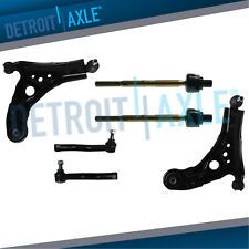 Lower Control Arms Inner Outer Tierods - 2009 2010 2011 Chevy Aveo 5 Pontiac G3