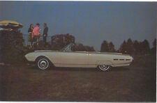 Ford Thunderbird Convertible Not Dated original Postcard