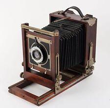 "Vintage Korona 4x5"" wooden view camera with Kodak lens"