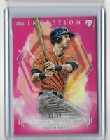 2019 Topps Inception Baseball Pink Parallel Rookie Card Kyle Tucker 21/99 RC