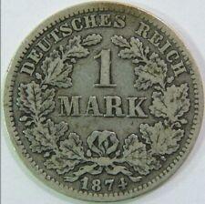 1 MARK 1874 F DEUTSCHES REICH
