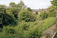 PHOTO  LEICESTERSHIRE  SITE OF COALVILLE LNWR RAILWAY STATION 1988