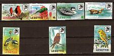 LESOTHO   Lot de 7  timbres neufs Oiseaux et canards   1M 209