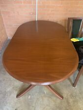 Parker Dining Table 6-8 seater with 6 chairs - Walnut