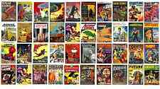 * SUPER MYSTERY COMICS COLLECTION * 39 ISSUES on DVD * MAGAZINES BOOKS VTG