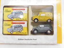 eso-8001Schuco Piccolo 1:90 Set VW Fridolin Edition Deutsche Post