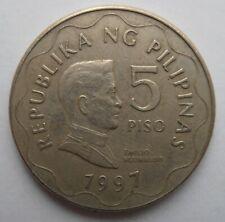 1997 PHILIPPINES 5 PISO