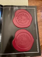 Makers Mark Signature Coasters Lot of 2