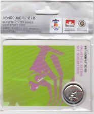 2008 25-cent Olympic Canada Coin Card - Freestyle Skiing - Petro Canada