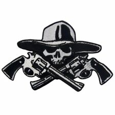 Iron Sew on Patches Applique Embroidered Biker Back Punk Patch Pirates Military