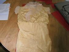 1920s Edmunds-Orr & Co Ltd  Pale Yellow  Silk Jacket & Shorts  Page Boy Outfit