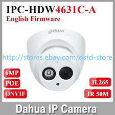 Dahua IPC-HDW4631C-A 6MP POE Built-in Mic All Metal Starlight Security IP Camera