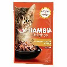 Iams Cat Delights Roast Turkey & Duck In Jelly 85g [DCse 24] - 727327