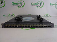 HP JG225A A5800AF-48G 48 Port Managed Ethernet Switch w/ 2x JC680A w/ Rack Ears