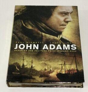 John Adams DVD 3-Disc Fold Out Box Set