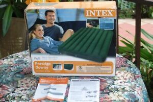 NEW FULL Air Mattress 54 inches AEROBED INTEX DURA BEAM INFLATABLE BED  N/R