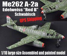 WWII German Me262 Schwalbe 1/18 huge plane aircraft no diecast trumpeter model