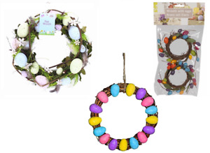 Easter Door Table Wreath Glitter Eggs Home Decorations Flowers Arts & Crafts