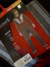 ASSASSIN'S CREED Aguilar MENS COSTUME M 32-34 NEW 3pc Robe Pants Hood Medium NWT