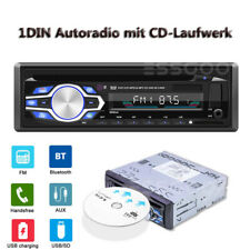 Autoradio mit CD-Player Bluetooth Freisprech-Einrichtung Usb SD Mp3 Aux 1din New