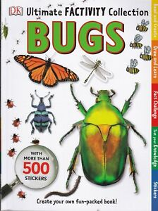 Bugs Insects Ultimate Factivity Collection, DK Kids Children Activity Fact Book