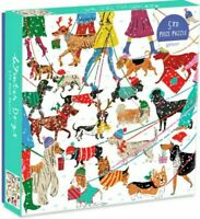 WINTER DOGS   500 pc jigsaw puzzle  - BRAND NEW, FREE SHIPPING
