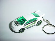NEW 2016 WHITE CHEVROLET VOLT CUSTOM KEYCHAIN key keyring ELECTRIC HYBRID chevy