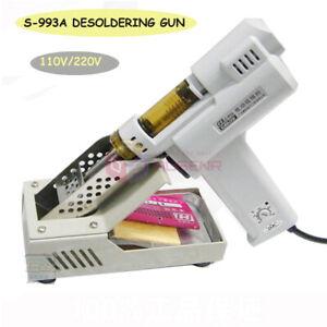 S-993A Electric Vacuum Desoldering Pump Solder Sucker Soldering Gun110V/220V