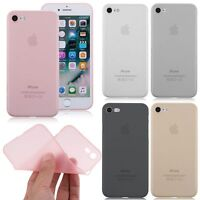Ultra-Thin Clear Soft Silicone Gel TPU Case Cover For Apple iPhone 7 /7Plus