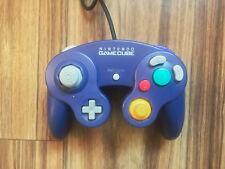 Original Nintendo Indigo Purple GameCube Controller Pad GC Wii Game Cube