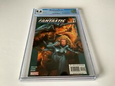 ULTIMATE FANTASTIC FOUR 21 CGC 9.6 WHITE PAGES 1ST MARVEL ZOMBIES MARVEL COMICS