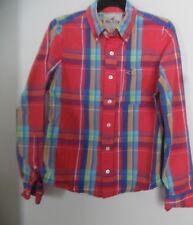 Men's Hollister Plaid Long Sleeve Shirt Sz S