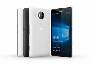 Microsoft Lumia 950 Windows 10 Smartphone 32GB GSM AT&T, Unlocked - White, Black