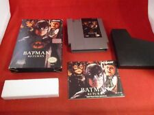 Batman Returns (Nintendo Entertainment System, 1993) NES COMPLETE w/ Box manual
