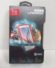 Genuine LifeProof frē Case for Samsung Galaxy S6 Cell Phones - Pink