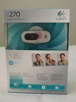 * NEW IN BOX * Logitech C270 HD Webcam 720p Widescreen ** Fuchsia Burst **