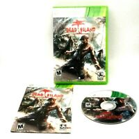 Dead Island Microsoft Xbox 360 Complete Very Good Deep Silver Tested Techland