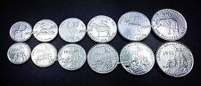 ERITREA UNC SET OF 6 COINS 1 5 10 25 50 100 CENTS 1991