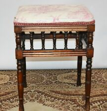 Antique Mahogany Piano / Dressing Stool - FREE Delivery [PL2084]