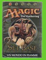 MTG MONDO IN FIAMME mazzo 40 carte AVANZATI magic the gathering SIGILLATO