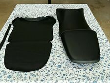 HONDA(n7) CBR600 CBR 600 F4i 1999 TO 2007 MODEL Seat Cover with strap BLACK(H26)