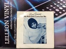 """Nina Simone My Baby Just Cares For Me 10"""" Single CYX201 Jazz 80's Compilation"""