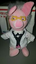 "Disney Store Mini Bean Bag Teacher Piglet 8"" Toy Doll NWT Winnie the Pooh & Frie"