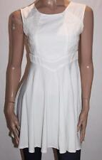 Paradisco Designer White Lace Insert Zip Back Day Dress Size 12/M BNWT #SZ65