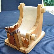 Chaise Longue Repose Téléphone Cheval Bois Décoratif 11 x 11 x 9 Cm -120 Grs Vit