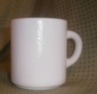 Vintage Milk Glass Coffee Cup