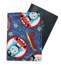 CHILD'S PASSPORT COVER/FOLDER/WALLET - THOMAS TANK ENG.  by Graggie Australia*GA