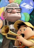Up movie poster  # 2  : 11 x 17 inches - Walt Disney, Up poster